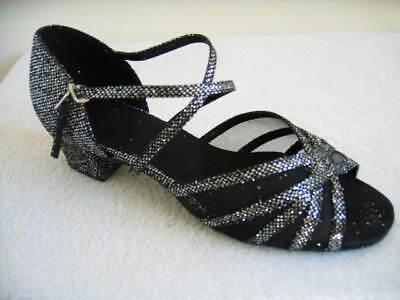 Ladies Latin Dance Shoes WCS Line Salsa Jive  UK 3-8