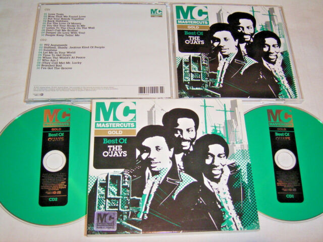 2 CD - Best of The O´Jays Gold Mastercuts (2007) Pappschuber - S 3