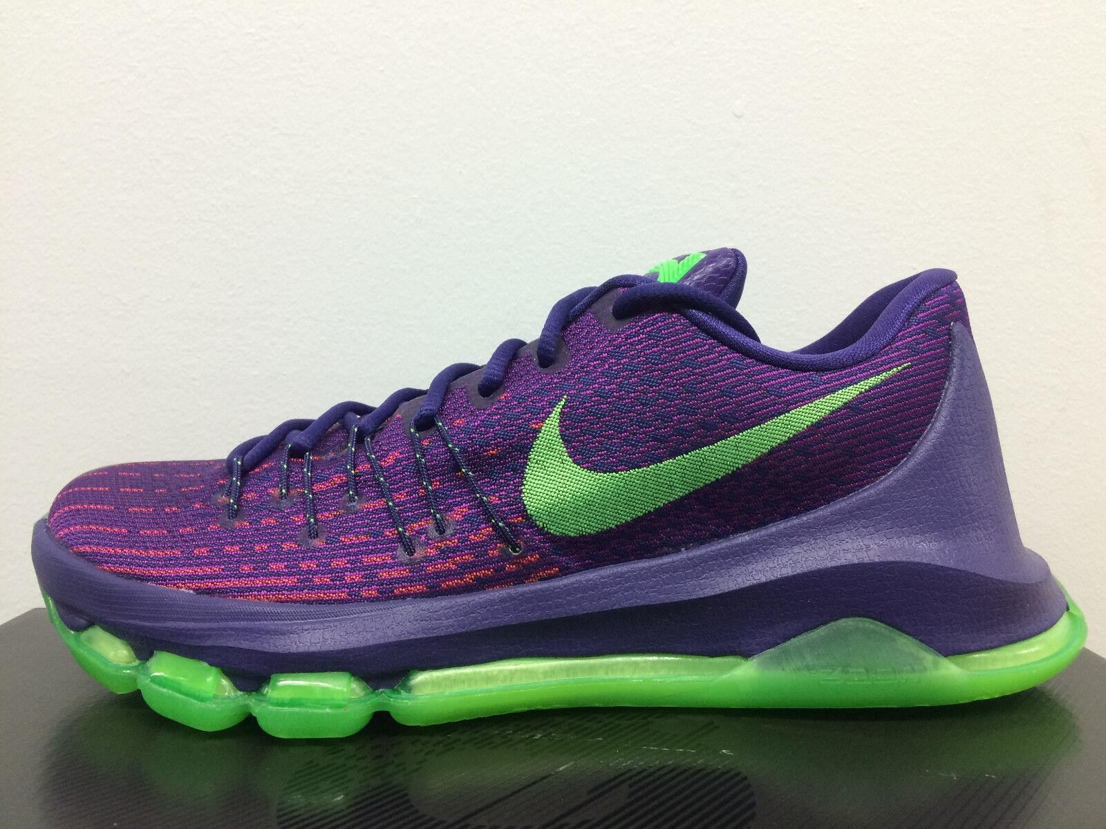 Nike KD 8 Suit Court Purple Green 749375-535 7-13  supreme 7 6 premium