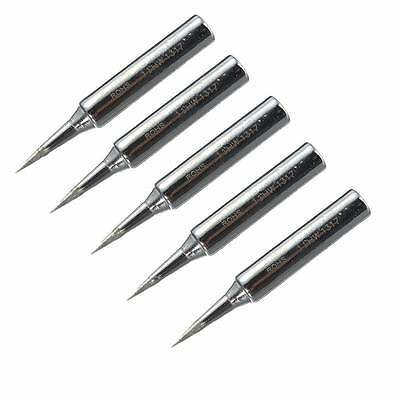 New 5pcs Lead Free Replacement Soldering Tool Solder Iron Tips Head 900m-T-I