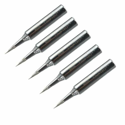 5x Lead Free Replacement Soldering Tools Solder Iron Tips Head 900m-T-I 936hc SL