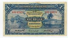 Trinidad & Tobago… P-5c … 1 Dollars … 1943 … *VF*