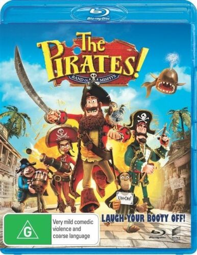 1 of 1 - The Pirates (BluRay, 2012)