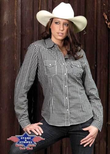 "25/% Rabatt*** Show-Shirt     ***SALE Karobluse Western-Bluse /""Katrina/"""