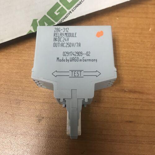 Wago 286-312 Switching Relay Module
