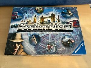 Ravensburger - Scotland Yard - Board Game - Complete !! contents re-sealed
