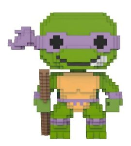 Aufsteller & Figuren Teenage Mutant Ninja Turtles 8-bit Pop Vinyl Figur Donatello 9 Cm Neu & Ovp