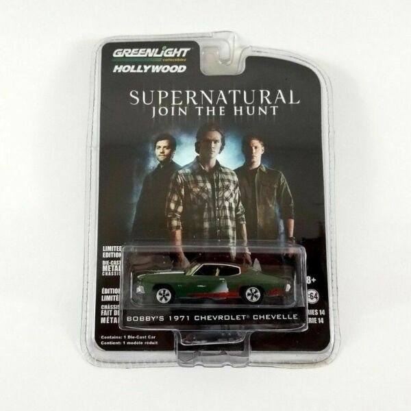 Bobbys Auto Sales >> Supernatural Bobbys 1971 Chevy Chevelle 1 64 Scale Die Cast Metal Car Greenlight For Sale Online Ebay