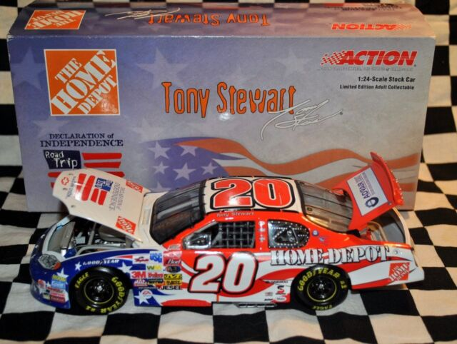 Independence Day 1//24 Action NEW #20 Tony Stewart 2003 Home Depot