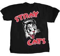 Stray Cats - Cat Head Logo - T Shirt S-m-l-xl-2xl Brand - Official T Shirt