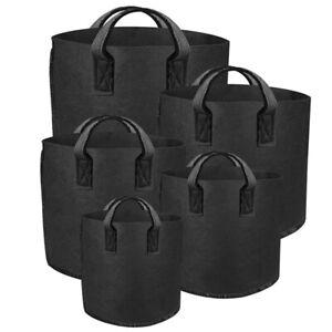 New-ProGrow-Fabric-Plant-Grow-Pots-Bags-w-Handles-1-3-5-7-10-20-Gallon-6-Pack