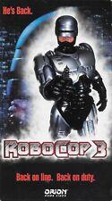 Robocop 3 (VHS, 1994)