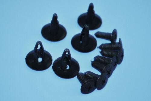 10pcs FORD garniture en Plastique Pare-chocs Clips rétention Fix Fender