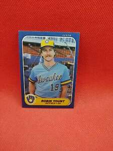 ROBIN YOUNT 1986 Fleer CARD $$ b-1521