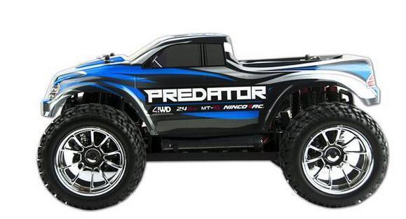 Ninco4RC NH93043 1 10 Predator MT-10 2.4G RTR RTR RTR Radio Cont Approx 50 Mtr Range da7fe8