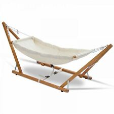Wooden Portable Natural Baby Hammock With Stand - Baby Shower Baby Gift Newborn