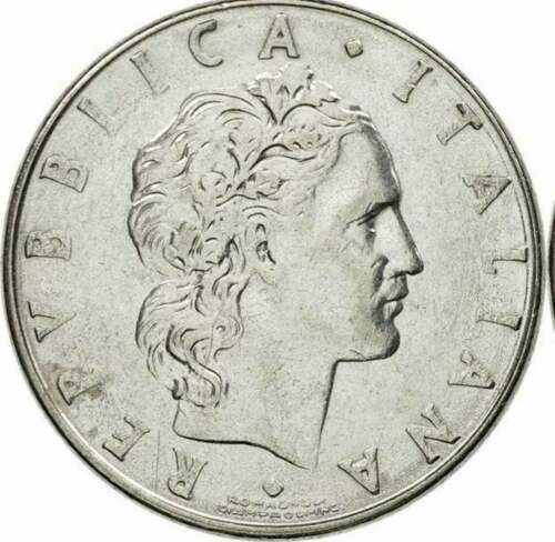 Naked Blacksmith large type Italy heads or tails flip male nude gay Italian coin