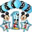 DISNEY-MICKEY-MINNIE-MOUSE-COMPLEANNO-PALLONCINI-BABY-SHOWER-SESSO-rivelare-Rosa-Blu miniatura 25