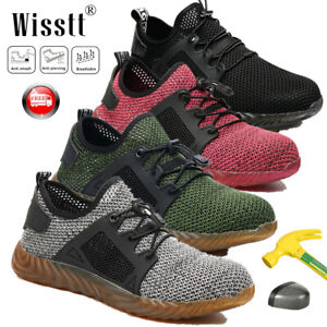 Men-039-s-Safety-Breathable-Work-Shoes-Steel-Toe-Boots-Indestructible-Labor-Sneakers