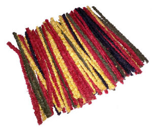 Pipe-Cleaners-Craft-Stems-Coloured-Assorted-Mixed-Colours-6-034-Buy-1-Get-1-Free