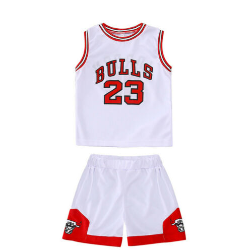 Kids Baby Boys #23 Basketball Jerseys Short Suits Kits Girls 1-10 years Sets