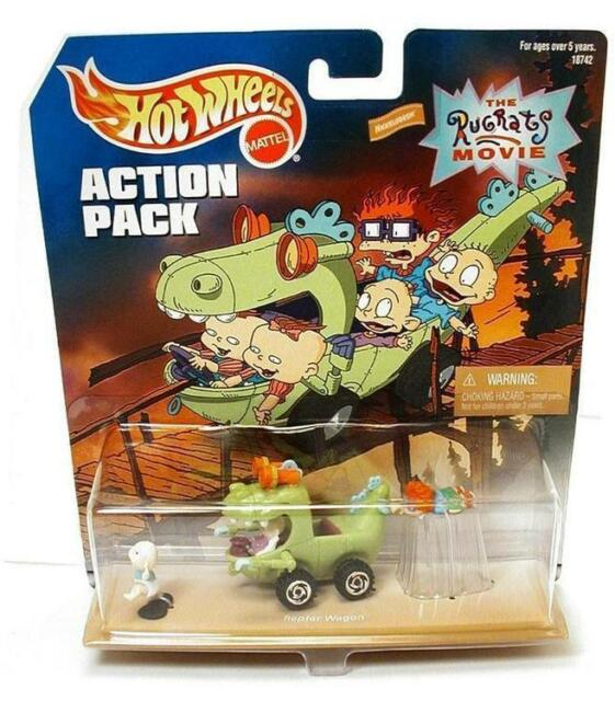 Hot Wheels Action Pack The Rugrats Movie With Reptar Wagon 18742 Ebay