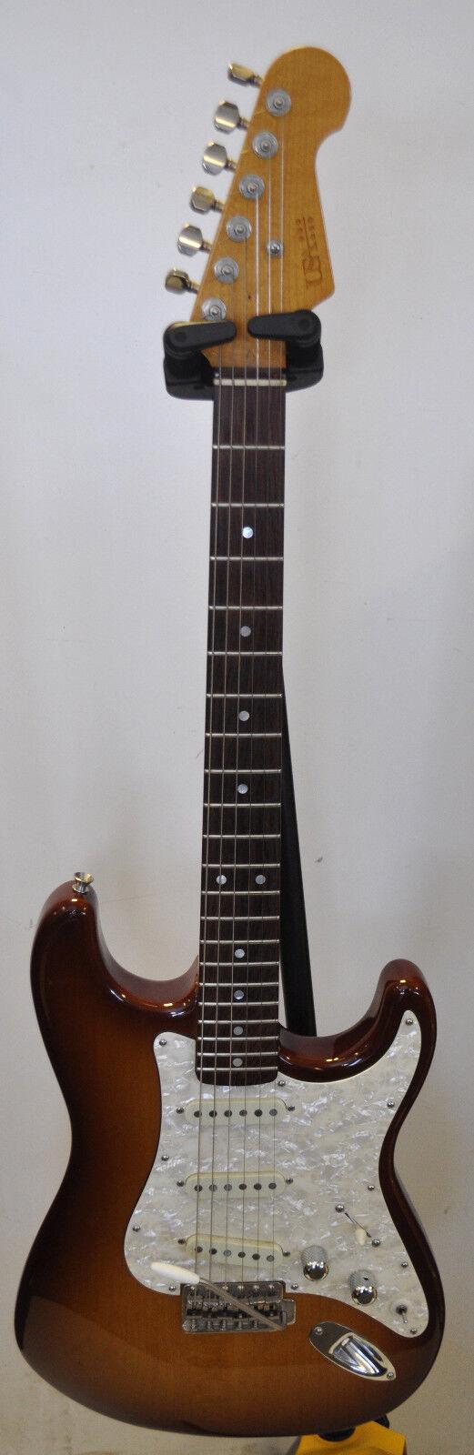 USA guitarras Personalizado (usacg) 2003 Honeyburst grando. grando. grando. Satén Stratocaster Menta  gran descuento