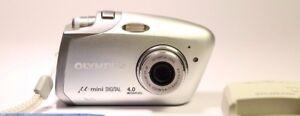 Olympus µ Mini DIGITAL 40MP Digital Camera  Silver -  West Sussex, United Kingdom - Olympus µ Mini DIGITAL 40MP Digital Camera  Silver -  West Sussex, United Kingdom