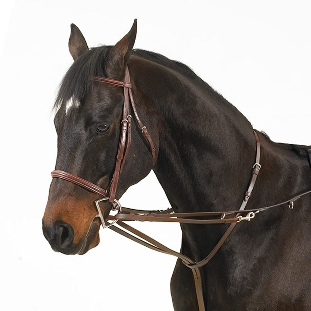Camelot German Martingale Rein - - Size - Brown One nqnjiz6481-Other