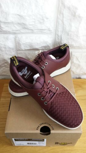 Wv' Size Dr 'solaris 5 woven nbsp;sneaker Fabric Leather Bnib Martens U k xYqvXwdBB