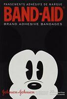 Band-Aid Adult Mickey Adhesive Bandages (JH05834) Health Aids