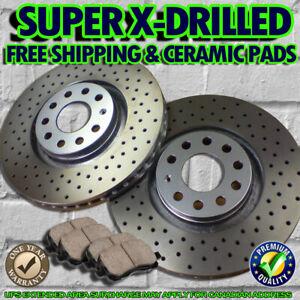 S0951-FIT-2009-2010-SUBARU-IMPREZA-2-0L-WRX-Drilled-Brake-Rotors-Ceramic-Pads
