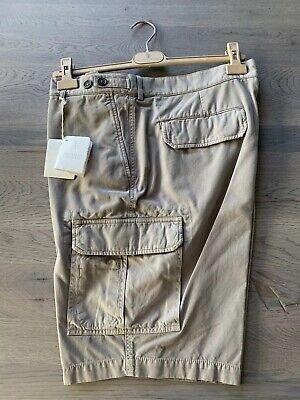 Affidabile Brunello Cucinelli Bermuda Short Cargo Chino Gabardine Pantaloni Corti Pants Xxxl 56-mostra Il Titolo Originale