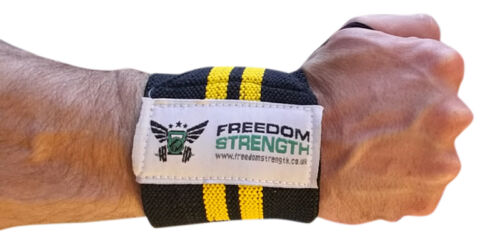 Freedom strength weight lifting wrist wraps bandage hand support gym straps