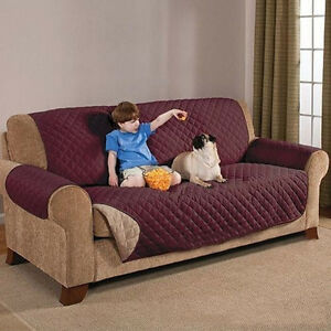 Polyester-Couch-Slipcover-Sofa-Love-Seat-Pet-Dog-Furniture-Skid-Covers-Protector