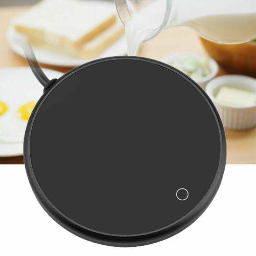 Electric Tea Coffee Cup Mug Warmer Heater Pad With Wireless USB Household Office
