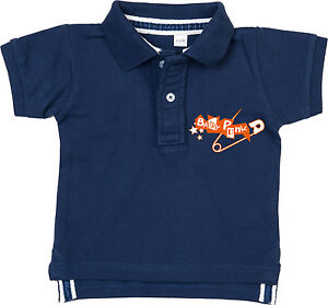 BABY PUNK Baby Polo navy