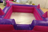 6 X 6 Ball Pool With 4 Air Jugglers And Inc 4 Sandbags
