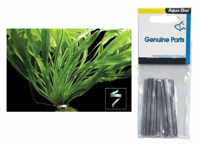 AQUA ONE PLANT WEIGHT 6CM (10PK)