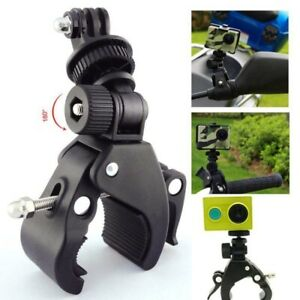 Bicycle-Bike-Handlebar-Mount-Roll-Clamp-Clip-Stand-Holder-for-Gopro-Hero-Camera