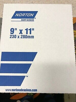 NORTON 9 X 11 280J GRIT METALITE SHEETS AA9456-50