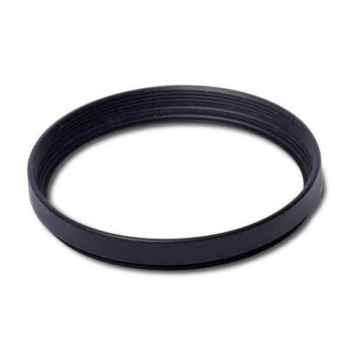 5,5 mm negro de latón Anillo distanciador//Vacía versión 52 x 0,75 mm de altura aprox