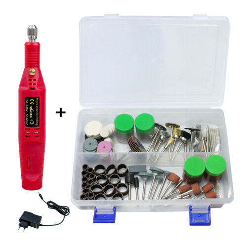 Mini Electric Drill Engraving Polishing Machine Grinder Power Rotary Tool Set