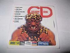 Revista OFICIAL PLAYSTATION 1 Reino Unido disco de demostración 14 ~ 2 Xtreme ~ ~ tiempo Commando