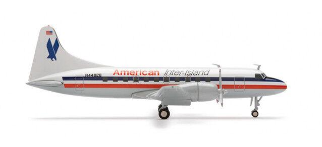 Herpa 552486 American entre les îles Convair CV-440 N44B26 1 200 modélisme