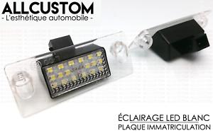 LED-ECLAIRAGE-BLANC-XENON-PLAQUE-IMMATRICULATION-pour-AUDI-A3-8L-00-03-S3-Sline