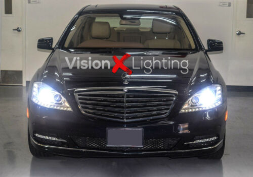 2x D1S Xenon Hid Bulbs White 6000K Headlight For Mercedes S Class W221 2005-2013
