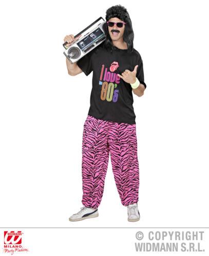 S988 disfraz 80er años jóvenes Sport disfraz macho talla M//L-XL proletario traje