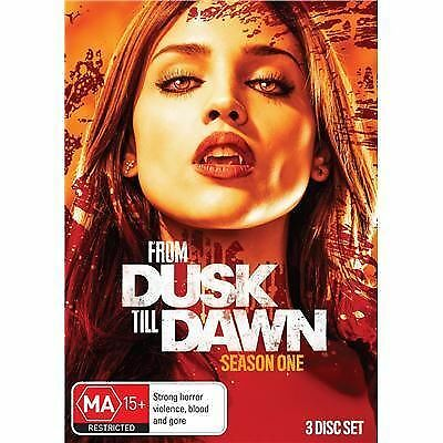1 of 1 - From Dusk Till Dawn : Season 1 (DVD, 2014, 3-Disc Set) Brand New & Sealed R4