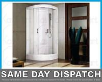800 X 800 Hydra Shower Cubicle Enclosure Tray No Steam Mixer All In 1 Cheapest